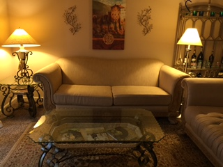 Beige Consignment Chaise
